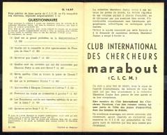 Supplément - Questionnaire  C.I.C.M. N° 14 Du MJ N° 69 . - Marabout Junior