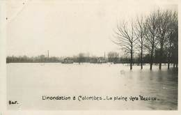 E-16 1138 : COLOMBES  LA PLAINE VERS BEZONS CRUE DE LA SEINE - Colombes