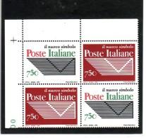 1994 - BLOCCO POSTE ITALIANE NUOVO MNH** VEDI++++ - 6. 1946-.. Republic