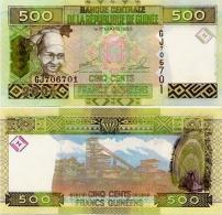 GUINEA      500 Francs      P-39a      2006      UNC - Guinée