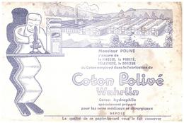 Co W/Buvard      Coton Wuhrlin (N= 1) - Buvards, Protège-cahiers Illustrés