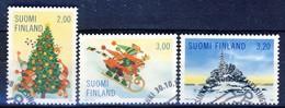 ##Finland 1998. Christmas. Michel 1457-59. Cancelled - Oblitérés