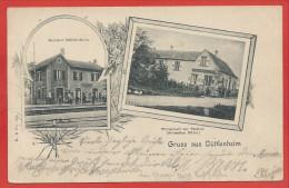 67 -  GRUSS Aus DÜTTLENHEIM - Bahnhof - Gare - Wirtschaft Zur Station - Frankrijk