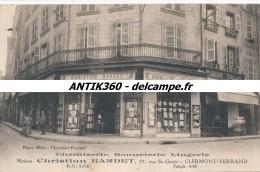 CPA 63 CLERMONT FERRAND Carte Très Rare, Inédite, Chemiserie Bonneterie Christian Bardet 27 Rue Saint Genés - Clermont Ferrand