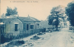 CPA 91 VIRY CHATILLON Rue Du Pavillon - Viry-Châtillon
