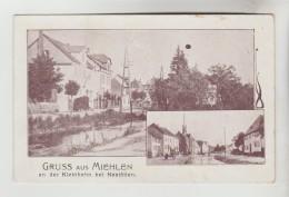 CPA MIEHLEN (Allemagne-Rhénanie Palatinat) - Gruss Aus.....an Der Kleinbahn Bei NASTATTEN : 2 Vues - Germania
