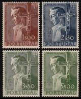~~~  Portugal 1954 - Sao Paulo 400 Ans - Mi. 831/834 ** MNH CV 170 € [30066a] ~~~ - 1910-... Republiek