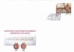 Litauen, 2002, 789, 150 Jahre Staatliches Archiv. FDC - Lithuania