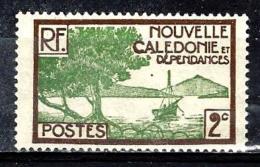 NOUVELLE CALEDONIE 140** 2c Sépia Et Vert-jaune Baie De La Oointe Des Palétuviers - New Caledonia