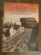 L´ Automobile  RIVISTA MENSILE ILLUSTRATA DEL  R. A. C. I.  ANNO I - NUM. 2 - ROMA FEBBRAIO 1939-XVII - Motori
