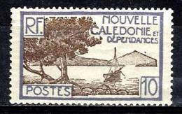 NOUVELLE CALEDONIE 143** 10c Violet Et Sépia Baie De La Pointe Des Palétuviers - New Caledonia