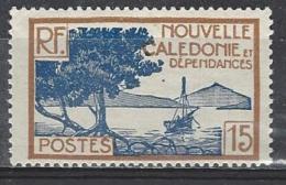 NOUVELLE CALEDONIE 144** 15c Bistre Et Bleu Baie De La Pointe Des Palétuviers - New Caledonia