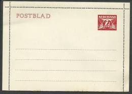 PAYS-BAS: **, ENTIER POSTAUX, Carte-lettre N°26 - 1941, TB - Postal Stationery