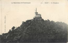 83  AGAY SEMAPHORE  PHARE OBSERVATOIRE - Cartes Postales