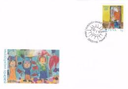 Litauen, 2002, 806,  Europäischer Kindertag. FDC - Lithuania