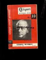 Catalogue  Complet Et Permanent NOEL 1955 Disques ETOILE MUSIQUE Disques De Longue Durée Eugène ORMANDY 432 Pages - Musique