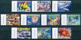 2007 Tokelau Fauna Marina Marine Life Pesci Fishes Fische Poissons Coralli Corals Coraux MNH** C12 - Tokelau