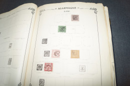 Grosse Collection D'anciens Timbres Allemand,du Neuf Et De L'oblitérés Sur Petite Charnière,voir Photos - Allemagne