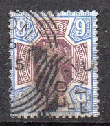 GB 1887: 9d Jubilee Issue Purple/blue, Used, No Faults Signed H.Richter; S.G. No. 209    O