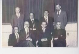 DORINNE  PHOTO DU DERNIER CONSEIL COMMUNAL 1976 - Yvoir