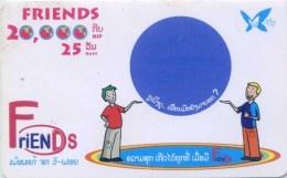 Mobilecard Laos - Friends - Kugel