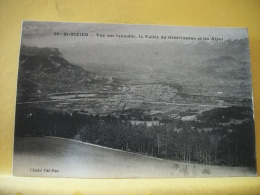 38 C8562 - 38 ST NIZIER - VUE SUR GRENOBLE - LA VALLEE DU GRESIVAUDAN ET LES ALPES - France