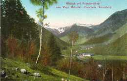 CPA - Environs De MITTLACH (68) - Aspect De La Maison Forestière Herrenberg Et Vue Du Rotenbachkopf Et Route De Metzeral - Autres Communes