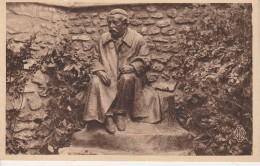 """27 - HARDENCOURT - """"Méditations"""" Bronze D'Aristide Briand E.Guillaume Sculpteur - Autres Communes"""