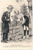 Nos Bons Paysans Ma Bonne Fille Vous Cueillez Des Champignons - Monde Paysan, - Illustrateur - Neuve TTBE - Elevage