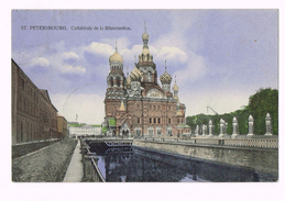St. Petersbourg - Cathédrale De La Résurrection - 1912 - Russia + Timbre/Stamp - Russie