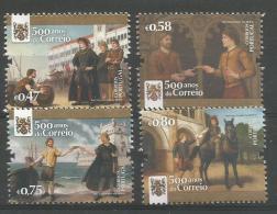 Portugal 2016, 500 Anos Do Correio, MNH, Postfrisch, - Unused Stamps