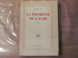 Romain Gary La Promesse De L Aube 21/04/1960 Nrf Edition Originale Eo Superbe - Livres, BD, Revues
