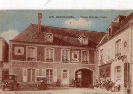 V4929 Cpa 72 Vibraye - Hôtel Du Chapeau Rouge - Vibraye