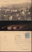 7509) FIRENZE PANORAMA VIAGGIATA 1913 TIMBRO AMBULANTE EMPOLI FIRENZE LIVORNO VERSO LA FRANCIA - Firenze
