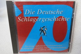 """CD """"Die Deutsche Schlagergeschichte"""" Authentische Tondokumentation Erfolgreicher Deutscher Titel Im Original 1959-1988 - Musik & Instrumente"""