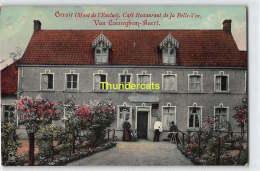 CPA KLUISBERGEN ORROIR MONT DE L'ENCLUS CAFE RESTAURANT DE LA BELLE VUE VAN CAENEGHEM BAERT - Mont-de-l'Enclus