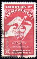 T923 - VENEZUELA  , Yvert N. 285  Usato Posta Aerea . - Venezuela
