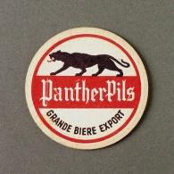 Brasserie De Basse Yutz Bière Panther Pils (Sous-bock Beermat Coaster Bierdeckel Bierviltje) - Sous-bocks