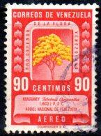 T924 - VENEZUELA  , Yvert N. 294  Usato Posta Aerea . - Venezuela
