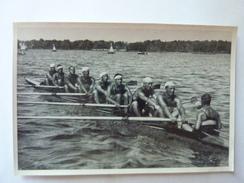 OLYMPIA 1936 - Band II - Bild Nr 112 Gruppe 61 - Entrainement Des Italiens à L'aviron, Tel Des Pirates - Sports