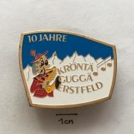Badge (Pin) ZN003243 - Music Kröntä Guggä Erstfeld - Musique