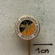 Badge (Pin) ZN003249 - Hockey / Tennis Berlin Sportverein Zehlendorfer Wespen 1911 E.V. - Winter Sports
