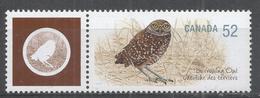 Canada 2008. Scott #2285d (MNH) Endagered Animals: Owl's: Burrowing, Hibou - 1952-.... Elizabeth II
