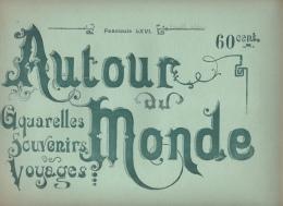 NOUVELLE CALEDONIE  - 8 AQUARELLES -   Fascicule LXVI COMPLET -  AUTOUR DU MONDE - SITES - MOEURS ET USAGES - Books, Magazines, Comics