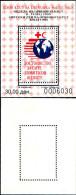 83890) Macedonia-1995-settimana Della Croce Rossa -BF -n.10a-cat-3 Euro Nuovo Non Dentellato - Macedonia