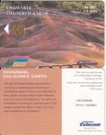 MAURITIUS ISL. - Chamarel Coloured Earth(telecard Logo), Chip GEM3.3, Used - Mauritius