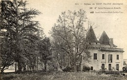 24 Chateau De SAINT-AULAYE - Otros Municipios