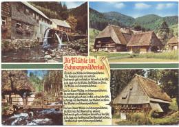 GERMANIA - GERMANY - Deutschland - ALLEMAGNE - 1977 - 40 - Die Mühle Im Schwarzwäldertal - Viaggiata Da Furtwangen Im... - Gutach (Schwarzwaldbahn)