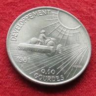 Haiti 10 Cent 1981  FAO  F.a.o. - Haïti