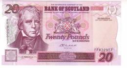 Great Britain - Bank Of Scotland 20 Pounds (2004) UNC R! - [ 3] Scotland